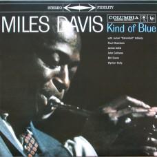 "LP MILES DAVIS ""KIND OF BLUE"" LIMITED EDITION BLUE COLOURED VINYL"