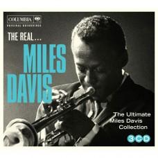 """CD MILES DAVIS """"'THE REAL... MILES DAVIS"""" (3CD)"""