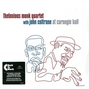 "LP THELONIOUS MONK QUARTET WITH JOHN COLTRANE ""AT CARNEGIE HALL"" (2LP)"