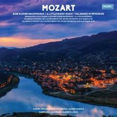 """LP MOZART """"EINE KLEINE NACHTMUSIK / A LITTLE NIGHT MUSIC / SALZBURG SYMPHONIES"""""""