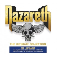"""CD NAZARETH """"THE ULTIMATE COLLECTION"""" (3CD)"""