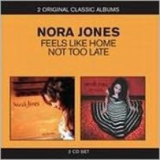 "CD NORAH JONES ""FEELS LIKE HOME / NOT TOO LATE"" (2CD)"