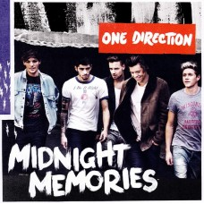 """CD ONE DIRECTION """"MIDNIGHT MEMORIES"""""""