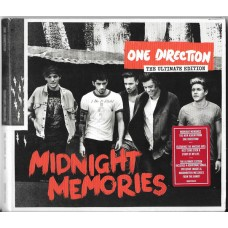"""CD ONE DIRECTION """"MIDNIGHT MEMORIES"""" THE ULTIMATE EDITION"""
