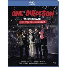 "BR ONE DIRECTION ""WHERE WE ARE. LIVE FROM SAN SIRO STADIUM"""