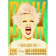 """DVD PINK """"THE TRUTH ABOUT LOVE TOUR"""" LIVE FROM MELBOURNE"""