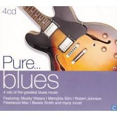 CD PURE... blues (4CD)