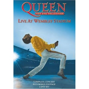 "DVD QUEEN ""LIVE AT WEMBLEY STADIUM"""