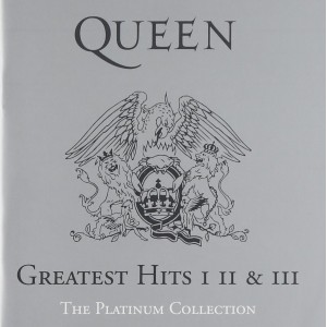 """CD QUEEN """"PLATINUM COLLECTION"""" (3CD)"""