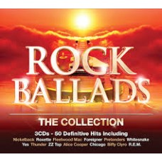 CD ROCK BALLADS. THE COLLECTION (3CD)