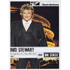 """DVD ROD STEWART """"ONE NIGHT ONLY!"""" Live At Royal Albert Hall"""