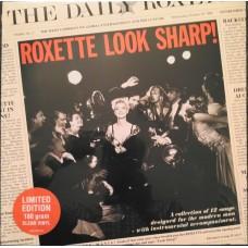 "LP ROXETTE ""LOOK SHARP"" CLEAR VINYL"