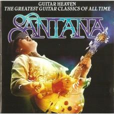 "CD SANTANA ""GUITAR HEAVEN. THE GREATEST GUITAR CLASSICS OF ALL TIME"""