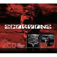 """CD SCORPIONS """"COMEBLACK / ACOUSTICA"""""""