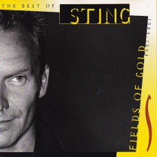 """CD STING """"FIELDS OF GOLD. THE BEST OF STING 1984-1994"""""""