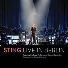 """DVD STING """"LIVE IN BERLIN"""" (CD+DVD)"""
