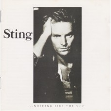 """CD STING """"... NOTHING LIKE THE SUN"""""""