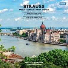 """LP STRAUSS """"FAMOUS WALTZES FROM VIENNA"""""""