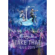 """DVD TAKE THAT """"LIVE 2015"""""""