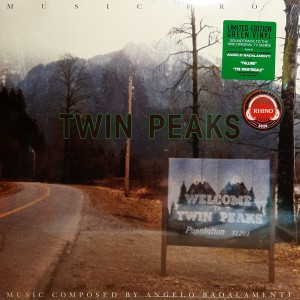 "LP OST ""TWIN PEAKS"" LIMITED EDITION GREEN VINYL"