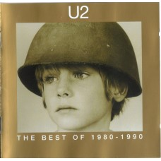 "CD U2 ""THE BEST OF 1980 - 1990"""