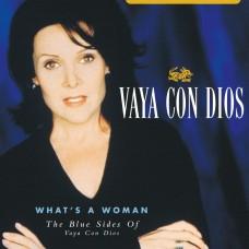 "LP VAYA CON DIOS ""WHAT'S A WOMAN. THE BLUE SIDES OF VAYA CON DIOS"" (2LP) TRANSPARENT BLUE VINYL RSD2021"