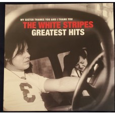 """CD THE WHITE STRIPES """"MY SISTER THANKS YOU AND I THANK YOU. THE WHITE STRIPE GREATEST HITS"""""""