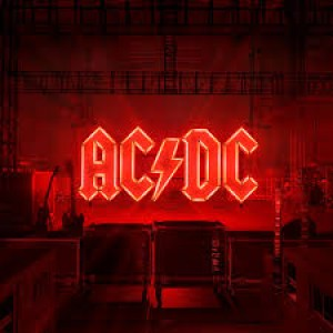 "LP AC/DC ""POWER UP"" OPAQUE RED"